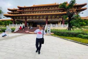 เที่ยวกรุงเทพ คลองสามวา วัดโฝวกวงซัน (Travel Bangkok, Khlongsamwa, Fo Guang Shan Temple)